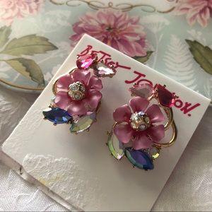 🆕Betsey Johnson Spring Glam Cluster Earrings